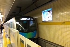 平日夜のSトレイン有楽町線→西武線所沢行きに乗る